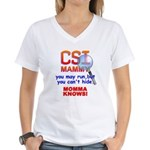 CSI MAMMY Women's V-Neck T-Shirt