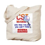 CSI MAMMY Tote Bag