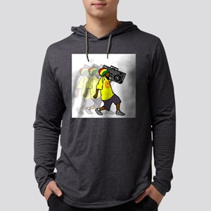 Rasta Boombox Long Sleeve T-Shirt