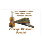Orange Blossom Special Fiddle Postcards (Package o