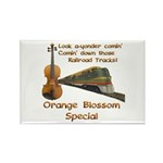 Orange Blossom Special Fiddle Rectangle Magnet (10