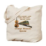 Orange Blossom Special Fiddle Tote Bag