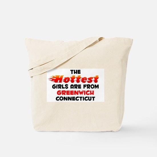 Hot Girls: Greenwich, CT Tote Bag