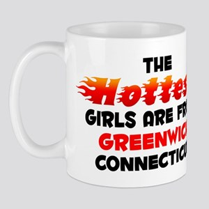 Hot Girls: Greenwich, CT Mug