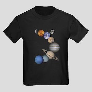 Planet Swirl Kids Dark T-Shirt