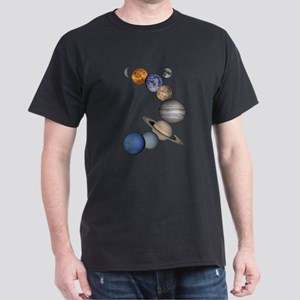 Planet Swirl Dark T-Shirt