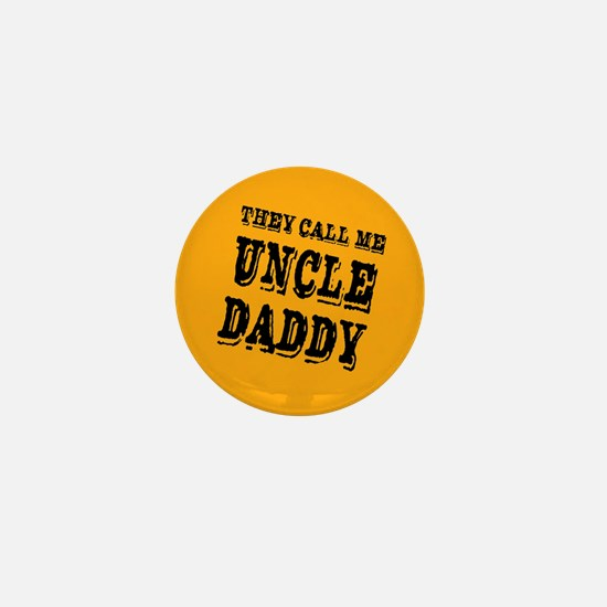 Uncle Daddy Mini Button