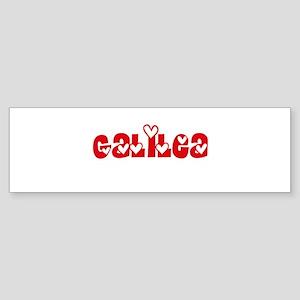 Galilea Love Design Bumper Sticker