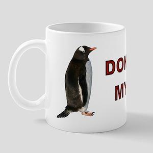 Global Warming Penguin Coffee Cup