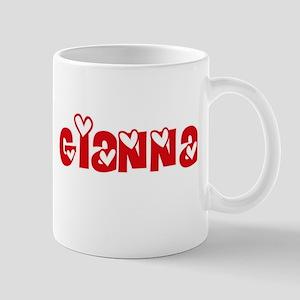 Gianna Love Design Mugs