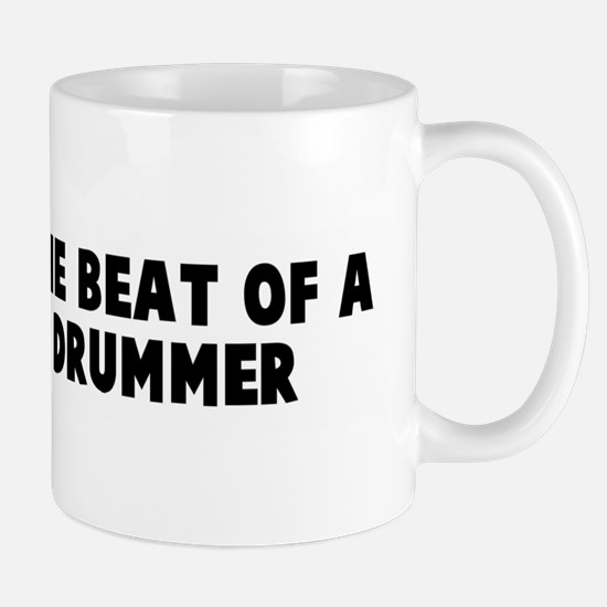 March to the beat of a differ Mug