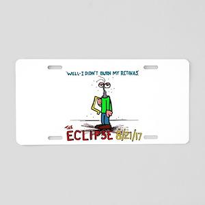 eclipse Aluminum License Plate