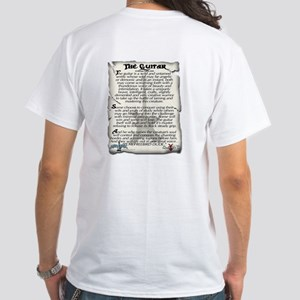 Ode to the guitar White T-Shirt