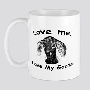 lovemelovemygoats Mugs