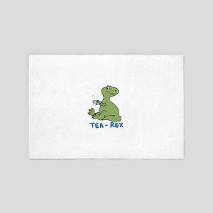 Tea rex 4' x 6' Rug