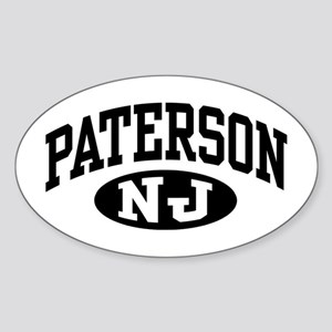Paterson New Jersey Oval Sticker