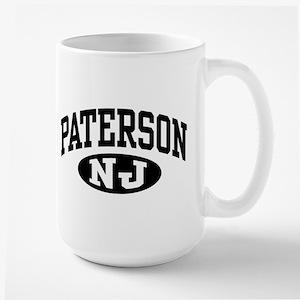 Paterson New Jersey Large Mug