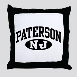 Paterson New Jersey Throw Pillow