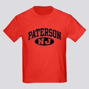 Paterson New Jersey Kids Dark T-Shirt