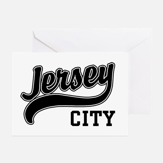 Jersey City New Jersey Greeting Cards (Pk of 10)