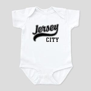 Jersey City New Jersey Infant Bodysuit