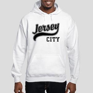 Jersey City New Jersey Hooded Sweatshirt