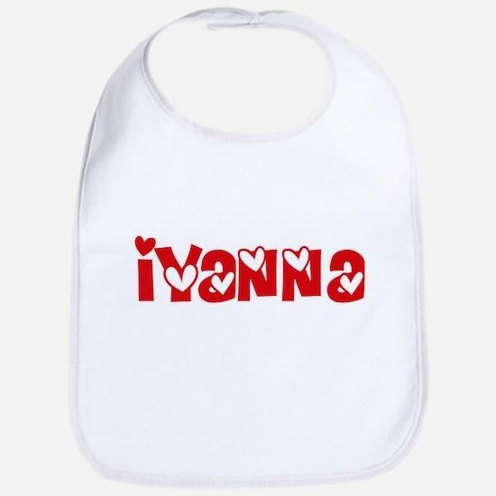 Iyanna Love Design Baby Bib