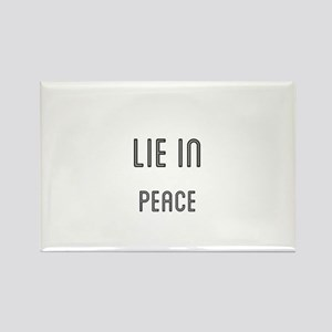 Lie In Peace Magnets