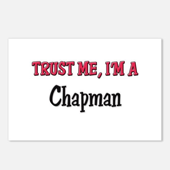 Trust Me I'm a Chapman Postcards (Package of 8)
