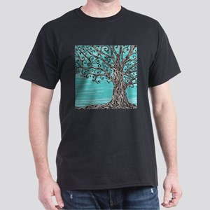 Decorative Tree Dark T-Shirt
