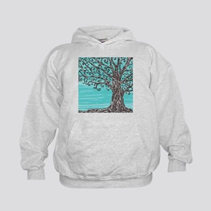 Decorative Tree Kids Hoodie