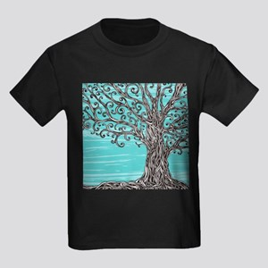 Decorative Tree Kids Dark T-Shirt