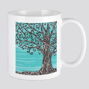 Decorative Tree Mug