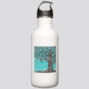 Decorative Tree Stainless Water Bottle 1.0L