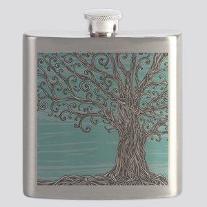 Decorative Tree Flask