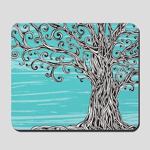 Decorative Tree Mousepad