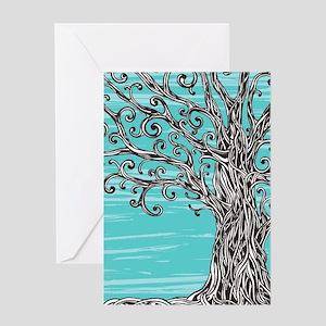 Decorative Tree Greeting Card