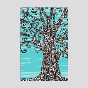 Decorative Tree Mini Poster Print