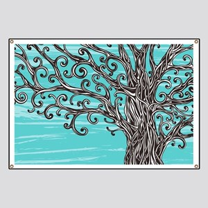 Decorative Tree Banner
