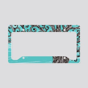Decorative Tree License Plate Holder