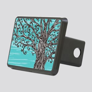Decorative Tree Rectangular Hitch Cover