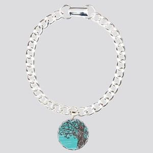 Decorative Tree Charm Bracelet, One Charm