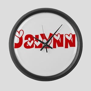 Jalynn Love Design Large Wall Clock