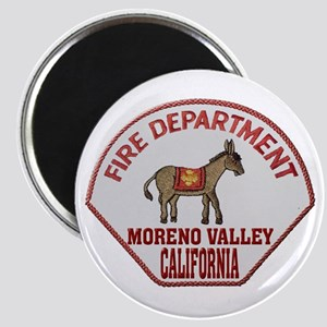 Moreno Valley Fire Magnets
