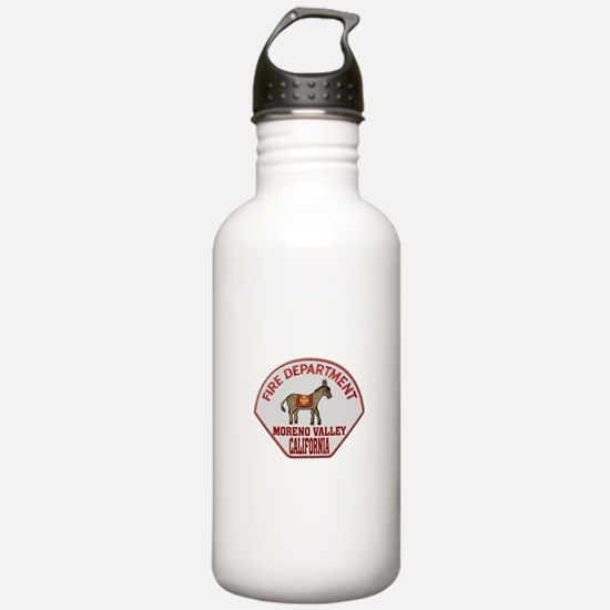 Moreno Valley Fire Water Bottle