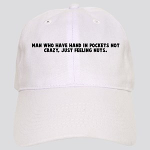Man who have hand in pockets Cap