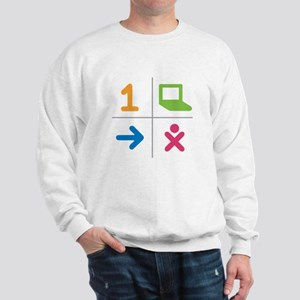 4 Square Logo No Text Sweatshirt