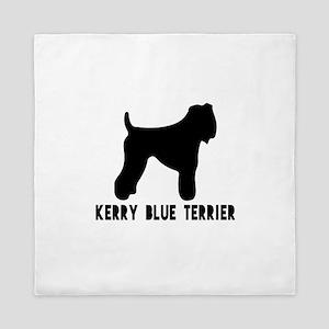 Kerry Blue Terrier Dog Designs Queen Duvet