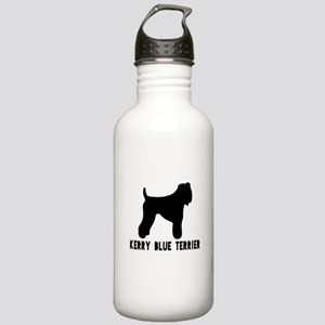 Kerry Blue Terrier Dog Stainless Water Bottle 1.0L