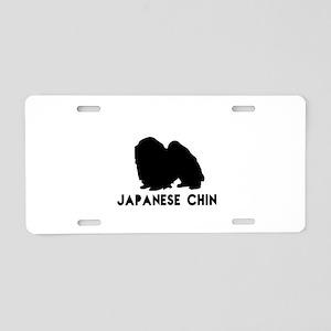 Japanese chin Dog Designs Aluminum License Plate
